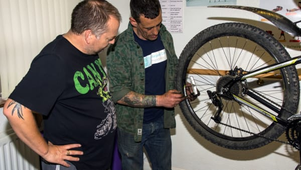 MCF Bikery  - Dr Bike @ the Repair Cafe