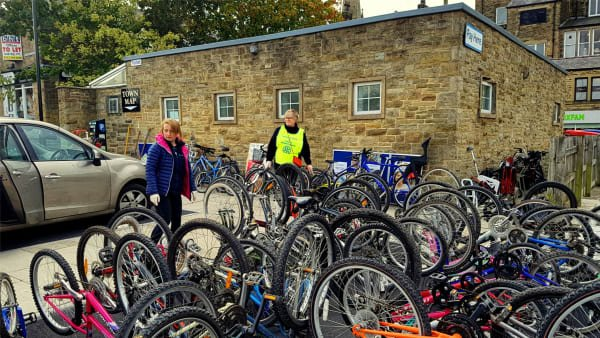 Ilkley Recycling Day Success