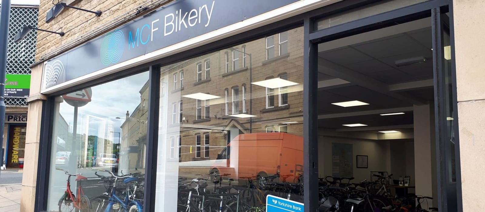 The MCF Bikery at Shipley