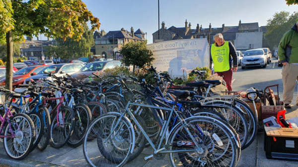 Ilkley Wharfedale Rotary Club Bike Collection